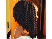 Afro/European/Asian hairdresser/weave extension/braids/twist/crotchet/cornrow/lace wig/frontal