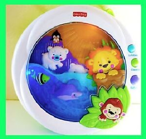 Fisher Price Melodies & Motion PRECIOUS PLANET Crib Soother
