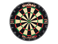 Winmau Dartboard with Rubber Surround