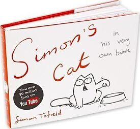 Simon's Cat [famous on youtube] Hardback book