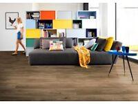 Luxury Oak affect Vinyal flooring (like Amtico)
