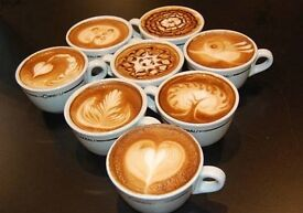 We are looking barista £ staff for our kitchen .