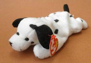 Dotty the Dalmation Dog Ty Beanie Baby stuffed animal