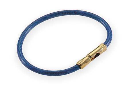 Lucky Line Products 71135 Key Ring, 1 5/8 In Ring Size, Blue
