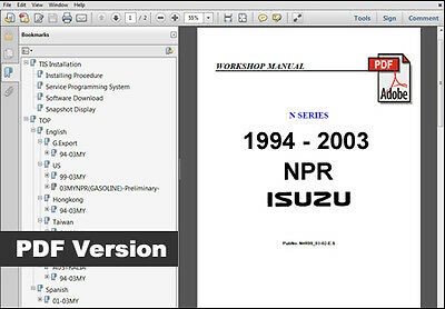 Isuzu Npr Repair Manual