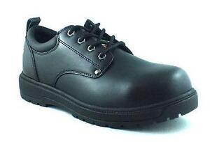 SZ 12 NEW Workload Oxford Men's Goose Leather CSA safety shoes