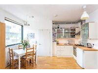 A bright and spacious apartment with large bedrooms, private roof terrace, bicycle storage