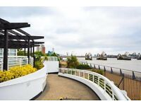 Large 9th floor apartment, daytime porter, parking, residents gym, stunning views of the Thames