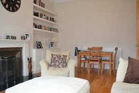 *** Large 2 Bed With Garden, Wood Floor, High Ceilings and Off Street Parking Offered Furnished ***