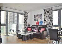 A lovely 8th floor flat in a wonderful development with access to porter and gym.