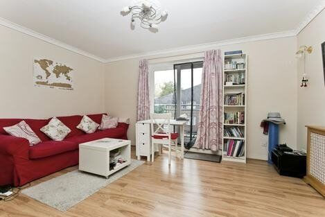 A split level apartment with wooden flooring, extra spacious bedrooms and plenty of storage