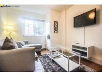 Newly Refurbished! Wooden flooring and huge bedrooms in this charming flat with period features