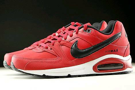 3f65c8fa48 ... discount nike air max command leather gym red black whit size uk 8.5  65034 68de8