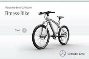 Mercedes-Benz fitness bike 2017