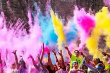 Colour me rad 5k tickets Golden Grove Tea Tree Gully Area Preview