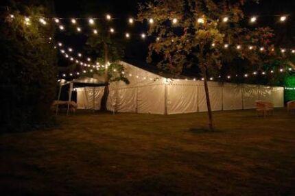 Festoon lights for sale 3x 20m lengths