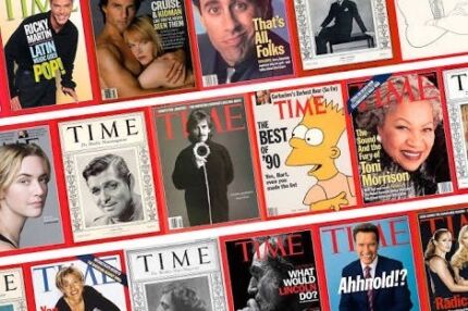 TIME magazine collection 1970s-2000s