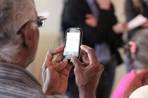 Android smart phone classes for the over 50s