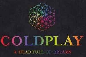 Coldplay Ticket for Sydney - Tuesday 13th Dec - Silver Standing Redfern Inner Sydney Preview