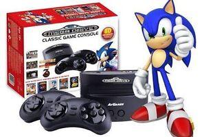 Sega mega drive classic game console. Karama Darwin City Preview