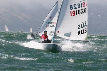 Laser sailing dingy yacht for sale