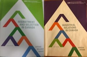 Human resources textbooks 3 - Canadian edition