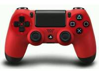 Ps4 official red controller