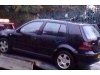 1998-2004 MK4 VW GOLF 1.9 GT TDI BREAKING IN BLACK