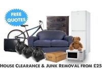 SAME DAY rubbish away / waste clearance, garage waste / house clearance / garden waste / office