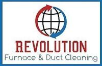 Furnace & Duct cleaning $159.99 - Revolution Packag