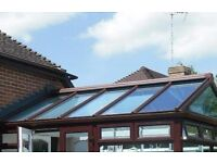Glass Conservatory Roof Panels - £40 each - open to offers