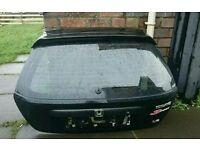 Honda civic EP2-3 Black boot with dark tinted window