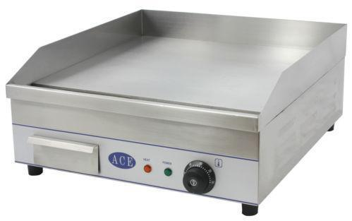 Electric griddle hotplate kitchen equipment units ebay for 50cm deep kitchen units