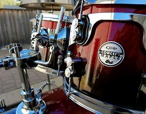 PDP by DW Concept Maple 5pc Drum Kit Auburn Auburn Area Preview