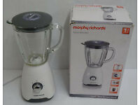 Morphy Richards 403051 Glass Blender - White LIKE NEW OR NEW !!!