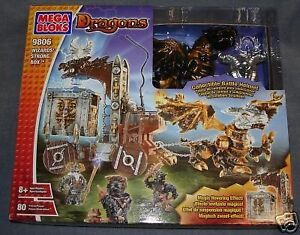 MEGA BLOKS DRAGONS WIZARDS STRONG BOX 9806 JOUET NEUF RARE