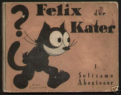 Felix der Kater 1927 Comic Pat Sullivan Berlin Erstausgabe Neue Berliner Verlag