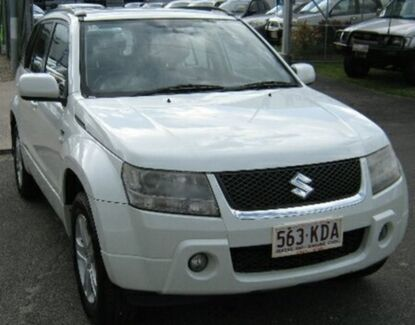 2006 Suzuki Grand Vitara JB Prestige White 5 Speed Sports Automatic Wagon Bungalow Cairns City Preview