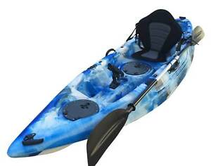 Budtrol kayak 2.83M single kayak with paddle, seat and leash Riverwood Canterbury Area Preview