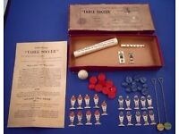 Wanted Subbuteo 50's, 60's Best prices paid.