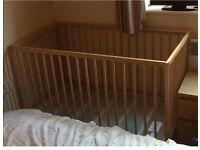 IKEA Baby Cot ( sniglar ) 60cm X 120 cm without matters