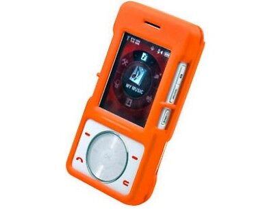 Rubberized Plastic Case Orange For LG Chocolate VX8500