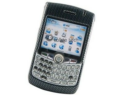 Hard Plastic Phone Design Cover Carbon Fiber For BlackBerry Curve 8300 Series - 8300 Carbon Fiber