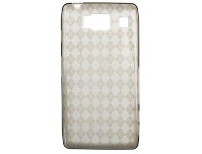 Crystal Skin TPU Protector Phone Case Smoke for Motorola DROID RAZR HD (Razr Phone Skin)