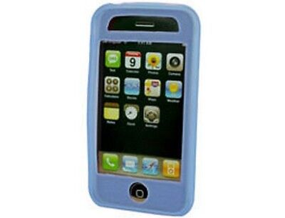 Light Blue Silicone Skin Case For Apple iPhone 3G S 3g Blue Skin