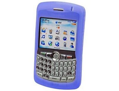 Blue Silicone Case For Blackberry Curve 8300 8310 8320