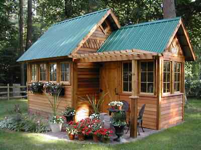 How To Build Your Own Garden Shed eBay