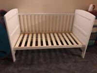 Cot/ toddler bed and bed guard