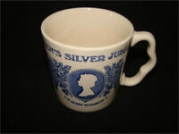 The Queen's  Royal Silver Jubilee 1951-1977 Commemorative Mug