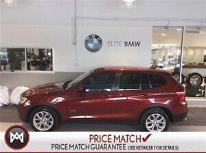 2014 BMW X3 NAVIGATION, LOW KMS, AWD